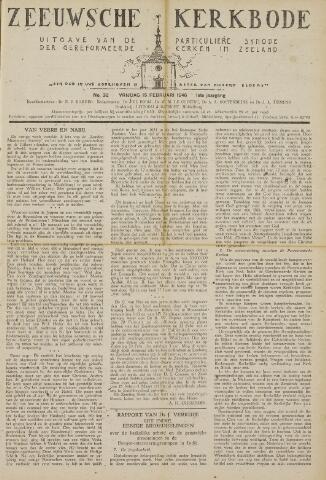 Zeeuwsche kerkbode, weekblad gewijd aan de belangen der gereformeerde kerken/ Zeeuwsch kerkblad 1946-02-15