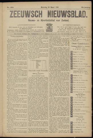 Ter Neuzensch Volksblad. Vrijzinnig nieuws- en advertentieblad voor Zeeuwsch- Vlaanderen / Zeeuwsch Nieuwsblad. Nieuws- en advertentieblad voor Zeeland 1919-03-29