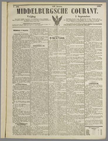 Middelburgsche Courant 1905-09-01