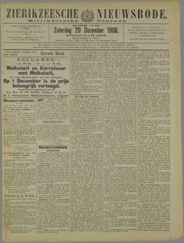 Zierikzeesche Nieuwsbode 1906-12-29