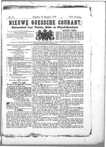 Nieuwe Goessche Courant 1869-09-28