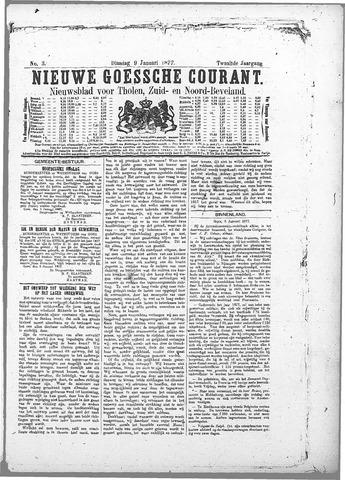 Nieuwe Goessche Courant 1877-01-09