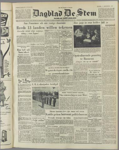 de Stem 1951-09-07