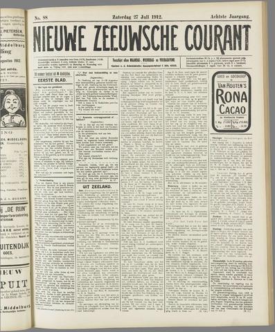 Nieuwe Zeeuwsche Courant 1912-07-27