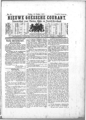 Nieuwe Goessche Courant 1877-10-19
