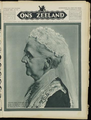 Ons Zeeland / Zeeuwsche editie 1934-03-23