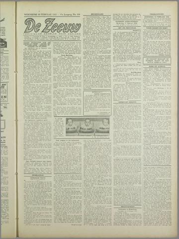 De Zeeuw. Christelijk-historisch nieuwsblad voor Zeeland 1943-02-10