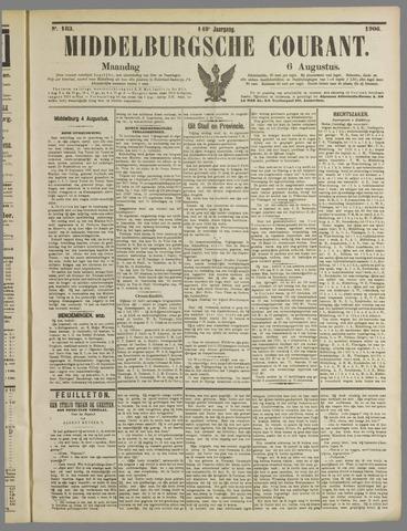 Middelburgsche Courant 1906-08-06