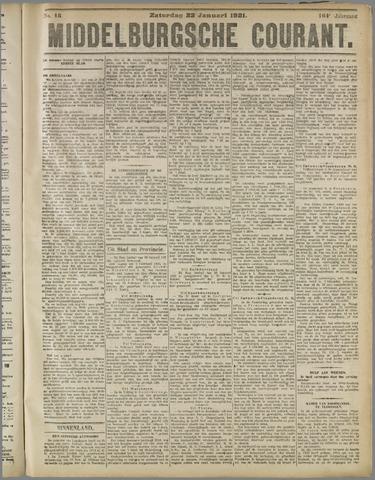 Middelburgsche Courant 1921-01-22