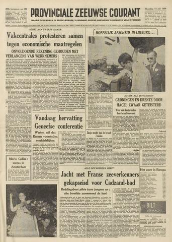 Provinciale Zeeuwse Courant 1959-07-13