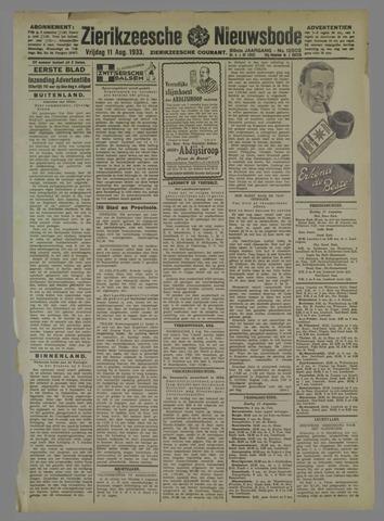 Zierikzeesche Nieuwsbode 1933-08-11