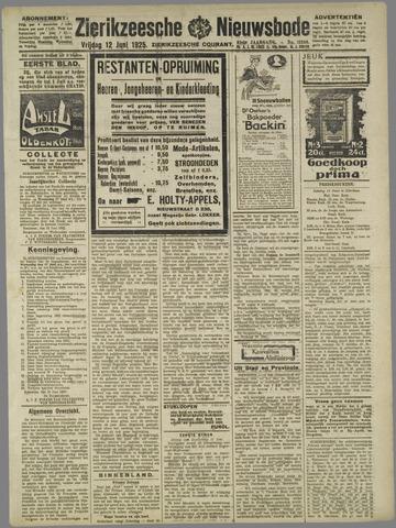 Zierikzeesche Nieuwsbode 1925-06-12