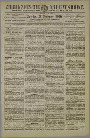 Zierikzeesche Nieuwsbode 1900-09-29