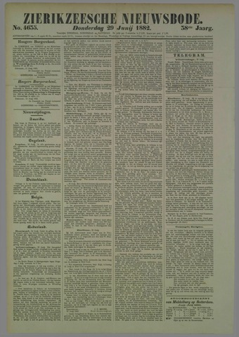 Zierikzeesche Nieuwsbode 1882-06-29