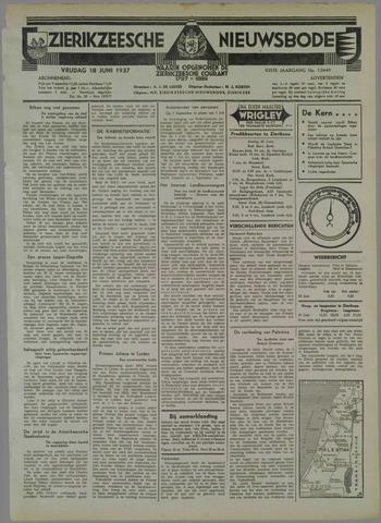 Zierikzeesche Nieuwsbode 1937-06-18