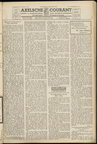 Axelsche Courant 1947-11-22
