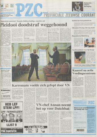Provinciale Zeeuwse Courant 2002-11-19