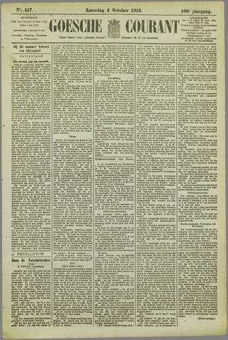 Goessche Courant 1919-10-04