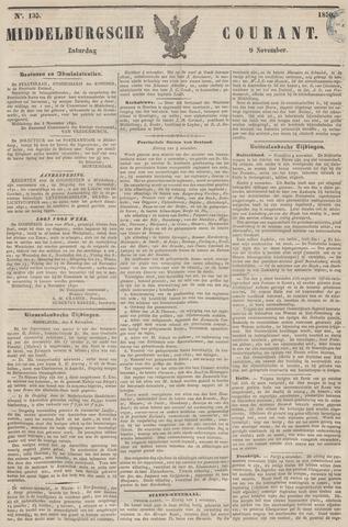 Middelburgsche Courant 1850-11-09