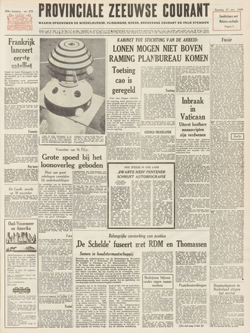 Provinciale Zeeuwse Courant 1965-11-27