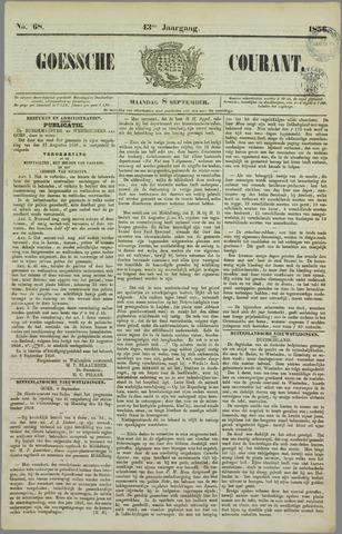 Goessche Courant 1856-09-08