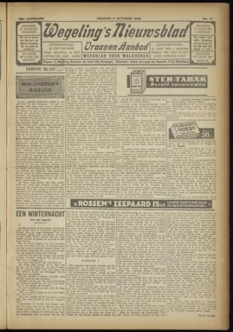 Zeeuwsch Nieuwsblad/Wegeling's Nieuwsblad 1929-10-11