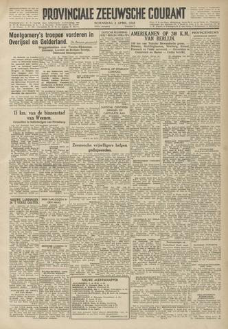 Provinciale Zeeuwse Courant 1945-04-04