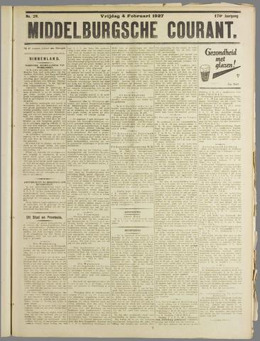 Middelburgsche Courant 1927-02-04