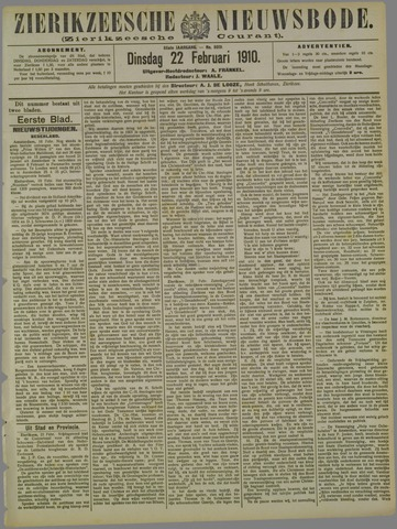Zierikzeesche Nieuwsbode 1910-02-22