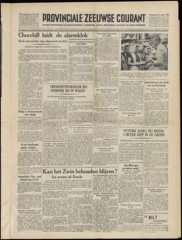 Provinciale Zeeuwse Courant 1950-08-28