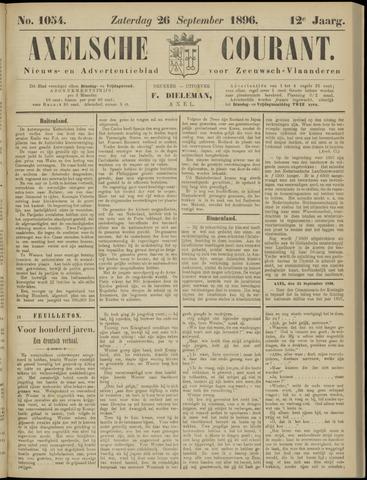 Axelsche Courant 1896-09-26