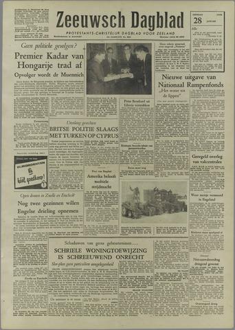 Zeeuwsch Dagblad 1958-01-28