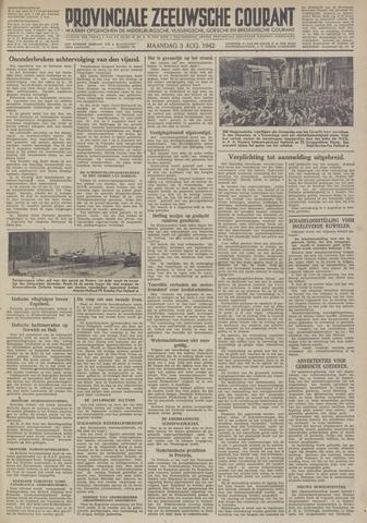 Provinciale Zeeuwse Courant 1942-08-03