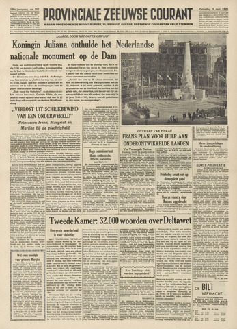 Provinciale Zeeuwse Courant 1956-05-05