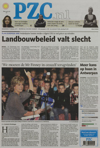Provinciale Zeeuwse Courant 2011-10-13
