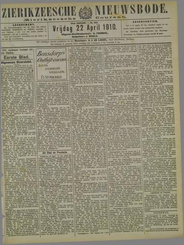 Zierikzeesche Nieuwsbode 1910-04-22