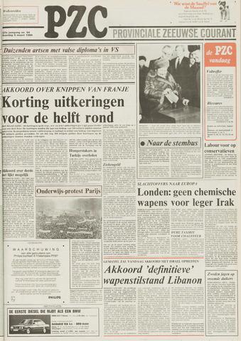 Provinciale Zeeuwse Courant 1984-03-05