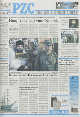Provinciale Zeeuwse Courant 2000-08-21