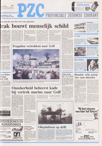 Provinciale Zeeuwse Courant 1990-08-21