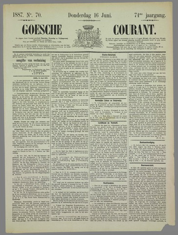 Goessche Courant 1887-06-16