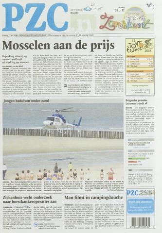 Provinciale Zeeuwse Courant 2008-07-15