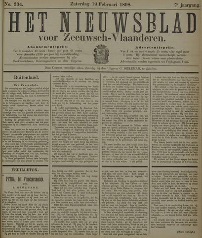 Nieuwsblad voor Zeeuwsch-Vlaanderen 1898-02-19