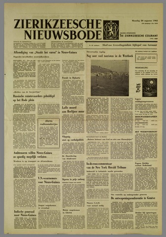 Zierikzeesche Nieuwsbode 1962-08-20