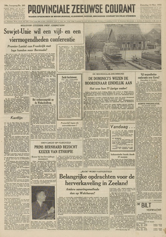 Provinciale Zeeuwse Courant 1953-11-14