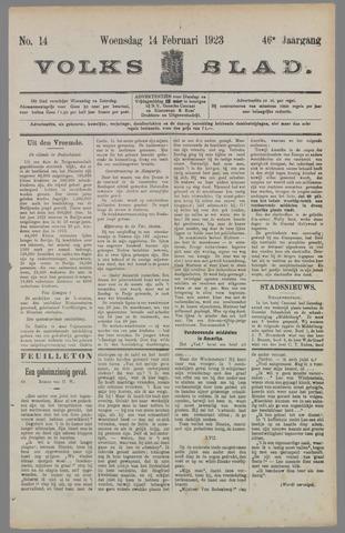 Volksblad 1923-02-14