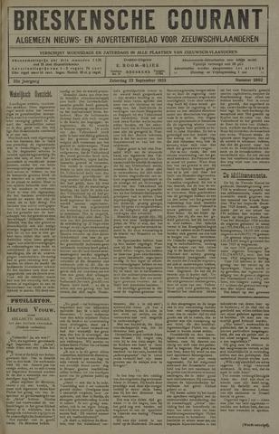 Breskensche Courant 1923-09-22