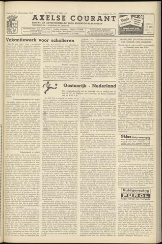 Axelsche Courant 1957-05-25