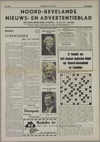 Noord-Bevelands Nieuws- en advertentieblad 1981-04-23