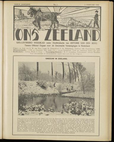 Ons Zeeland / Zeeuwsche editie 1929-02-02