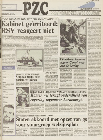 Provinciale Zeeuwse Courant 1979-06-27